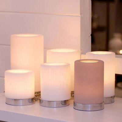 Authentage, Lampenserie 'Bellefeu', Leuchte 'Candle 6L', 3 verschiedene Oberflächen