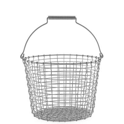 KORBO Drahtkorb Bucket, Stahl verzinkt, 2 verschiedene Größen