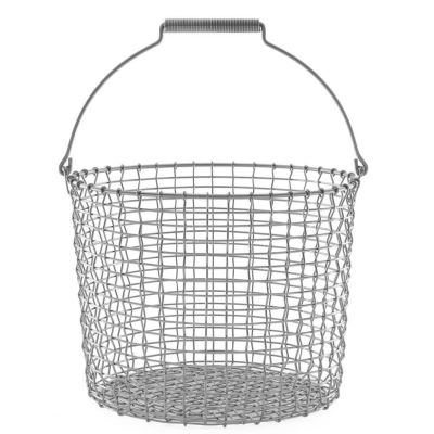 KORBO Drahtkorb Bucket, Edelstahl, 3 verschiedene Größen