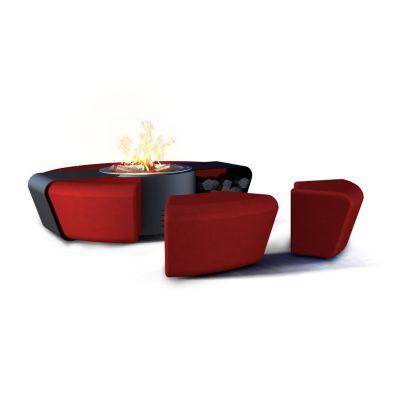Glamm Fire, Außenfeuerstelle, Typ: Circus, schwarz-rot
