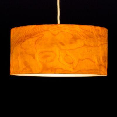 Woodmosphere, Pendelleuchte 'Crown', Ahorn gefladdert, 5 verschiedene Größen