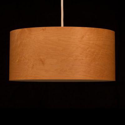 Woodmosphere, Pendelleuchte 'Crown', Ahorn Vogelaugen, 5 verschiedene Größen