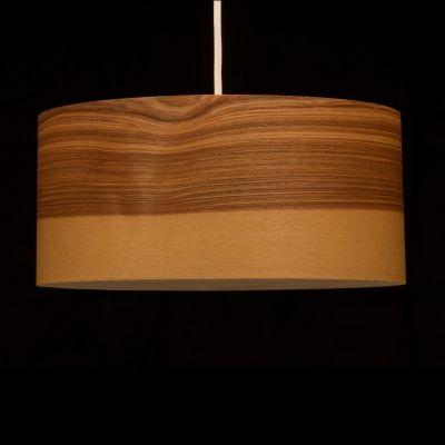 Woodmosphere, Pendelleuchte 'Crown', Esche Kern, 5 verschiedene Größen