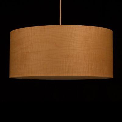 Woodmosphere, Pendelleuchte 'Crown', Ahorn geriegelt, 5 verschiedene Größen