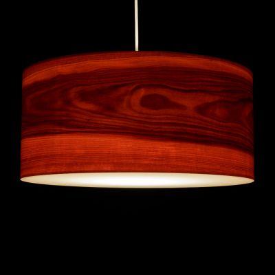 Woodmosphere, Pendelleuchte 'Crown', Elsbeere, 5 verschiedene Größen