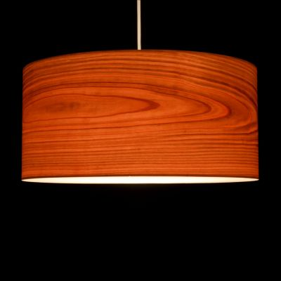 Woodmosphere, Pendelleuchte 'Crown', europäische Kirsche, 5 verschiedene Größen