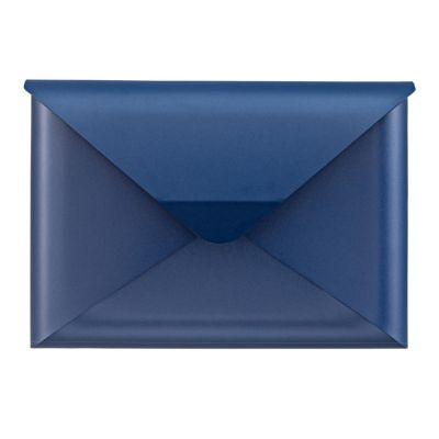 Dwenger Design Manufaktur, Briefkasten 'briefwunder', Farbe azurblau