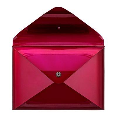 Dwenger Design Manufaktur, Briefkasten 'briefwunder', Farbe purpurrot