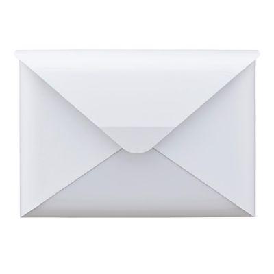 Dwenger Design Manufaktur, Briefkasten 'briefwunder', Farbe schneeweiß