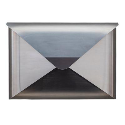 Dwenger Design Manufaktur, Briefkasten 'briefwunder', Farbe silverline