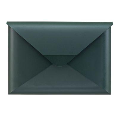 Dwenger Design Manufaktur, Briefkasten 'briefwunder', Farbe tannengrün