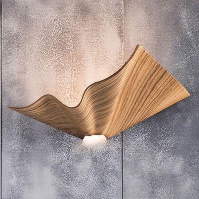 Cozi, Wandlampe, Modell 'Bloom Wall Light', furnierte Esche