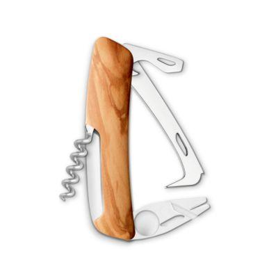 Swiza HO03TT Wood, Schweizer Taschenmesser, Griffschale Olive