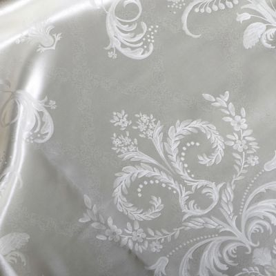 Plauener Seidenweberei, Spannbettlaken aus 100% Seide, Design 'Siena nature'