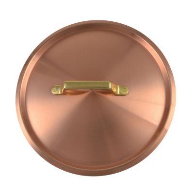 Kupfermanufaktur Weyersberg, Deckel aus Kupfer mit Griff, 10 verschiedene Durchmesser