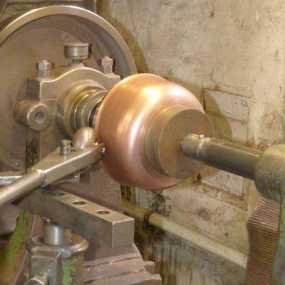 Kupfermanufaktur Weyersberg, Marmeladentopf aus Kupfer, Induktion, Durchmesser 31 cm