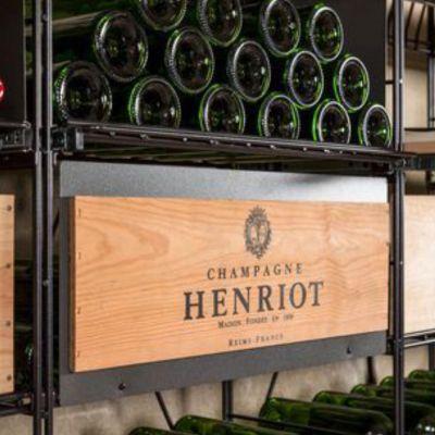 L'Atelier du Vin, Kennzeichnungsplatte für Auszug für Weinkisten, 60 cm Breite