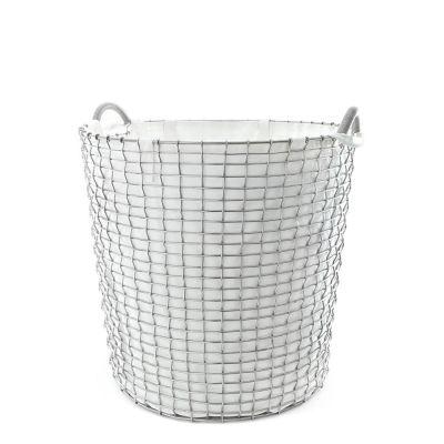 KORBO Laundry Bag, Korbeinsatz in schwarz oder weiß für die Korbgrößen 65 oder 80 Liter
