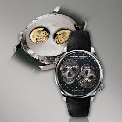 Alexander Shorokhoff, Modell Los Craneos, Automatik, limitierte Herren Luxusuhr