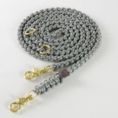 Molly and Stitch, Hundeleine 'Maritim', Farbe grau, 3 Größen