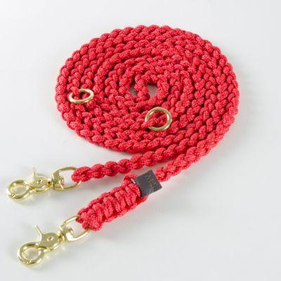 Molly and Stitch, Hundeleine 'Maritim', Farbe rot, 3 Größen