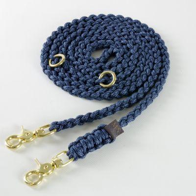 Molly and Stitch, Hundeleine 'Maritim', Farbe Navy blau, 3 Größen