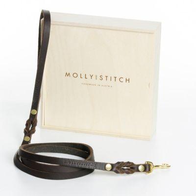 Molly and Stitch, Hundeleine 'Butter', Farbe braun, verschiedene Varianten