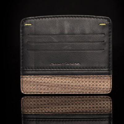Pininfarina, 'Folio', Kreditkarten-Etui 'Credit Card Holder', Walnuss