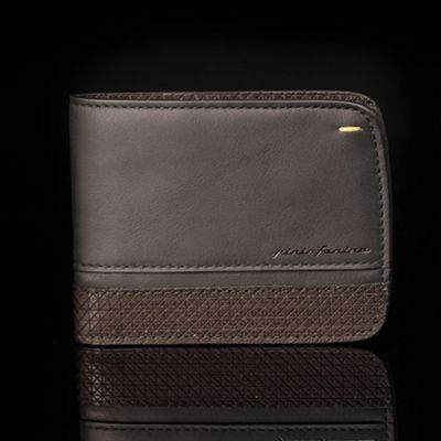 Pininfarina, 'Folio', Brieftasche 'Wallet', Wenge schwarz, 6 Kartenfächer