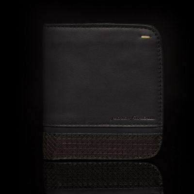 Pininfarina, 'Folio', Brieftasche 'Wallet', Wenge schwarz, 8 Kartenfächer