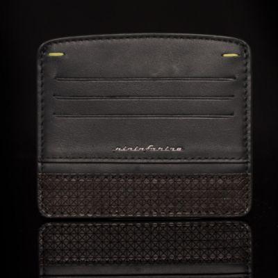 Pininfarina, 'Folio', Kreditkarten-Etui 'Credit Card Holder', Wenge schwarz