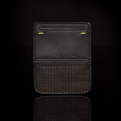 Pininfarina, 'Folio', Visitenkarten-Etui 'Business Card Holder', Wenge schwarz