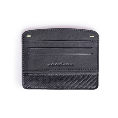 Pininfarina, 'Folio', Kreditkarten-Etui 'Credit Card Holder', Karbon schwarz