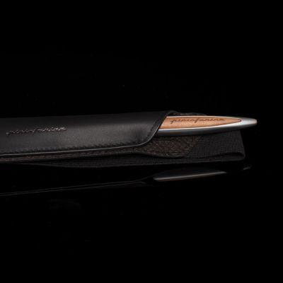 Pininfarina, 'Folio', Stifte-Etui 'Pen Case', Wenge schwarz