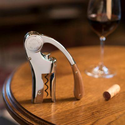 L'Atelier du Vin, Oeno Motion Wood Hebelkorkenzieher mit Griff aus Walnussholz