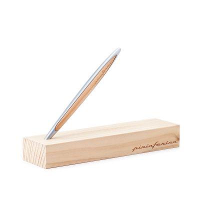Pininfarina, Classic-Edition, Pininfarina Stift 'Cambiano', Aluminium-Zedernholz, mit Ethergraph®-Spitze