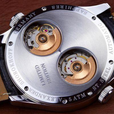 Alexander Shorokhoff, Modell Los Craneos II grau, Automatik, limitierte Herren Luxusuhr