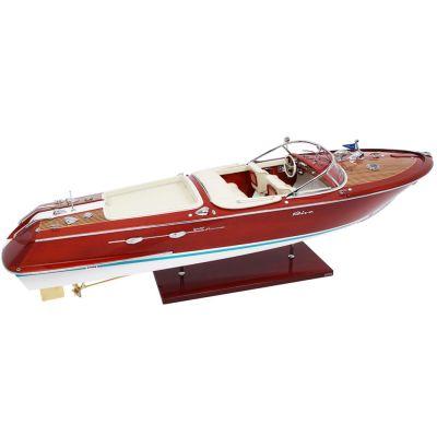 Kiade, Modellboot 'Riva Aquarama Special' 3 verschiedene Größen, Polsterfarbe Elfenbein