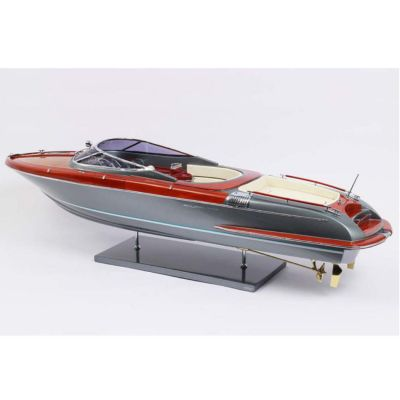 Kiade, Modellboot 'Riva Aquariva grey-shark' 84 cm, Maßstab 1:12