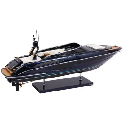 Kiade, Modellboot 'Riva Rivale blu sera' 57 cm, Maßstab 1:15