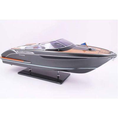 Kiade, Modellboot 'Riva Rivamare London grey' 79 cm, Maßstab 1:15