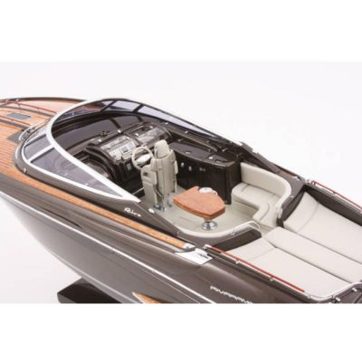Kiade, Modellboot 'Riva Rivarama braun',  70 cm, Maßstab: 1:20