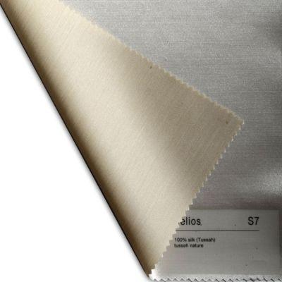 Plauener Seidenweberei, Spannbettlaken aus 100% Seide, Design 'Helios tussah'