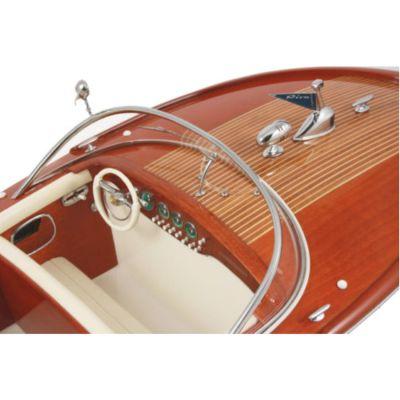 Kiade, Modellboot 'Riva Super Ariston Ivory', Polsterung Elfenbein, 69 cm, Maßstab: 1:10