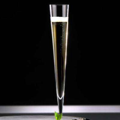 Zieher, Champagnerflöte 'Vaganza', mundgeblasen, 2er-Set