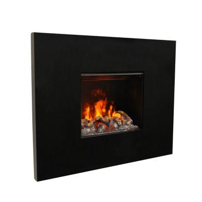 Glamm Fire, elektrischer Wandkamin , Typ: Senses 3D, schwarz