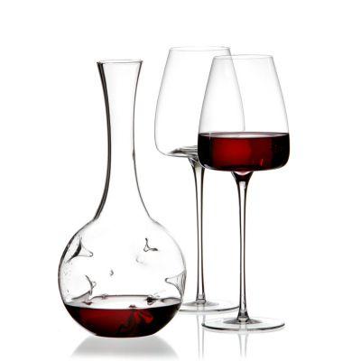 Zieher, Dekanter und Weinkaraffe 'Eddy mini' mit 2 Gläser