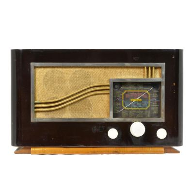 Charlestine, Radio Modell 'Teleco H17 1939', restauriert und modernisiert