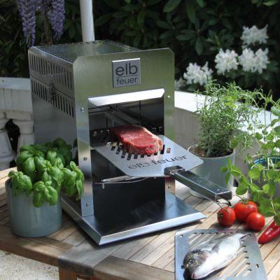 Dwenger Design Manufaktur, Oberhitzegrill 'Elbfeuer', Modell Solo Neuwerk Gastro