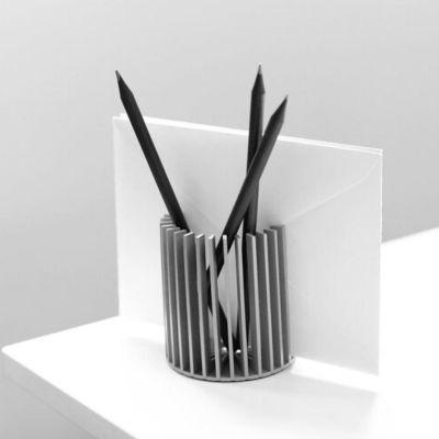 VAU, Modell 'Sunray', Stiftehalter Satin Silber